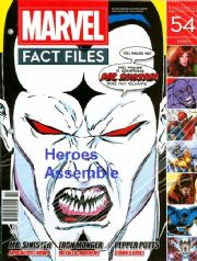 Marvel Fact Files #54 Eaglemoss Publications